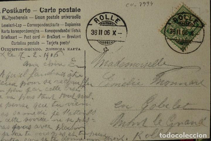 Postales: P-10031. UNA PARTIDA DE CARTAS COMO EXCUSA. 6 POSTALES. COLOREADAS. CIRCULADAS. AÑO 1906 - Foto 10 - 193764312