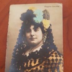 Postales: ANTIGUA POSTAL ACTRIZ COUPLESTITA PEPITA SEVILLA. Lote 194203510