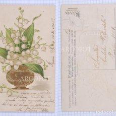 Postales: POSTAL FECHADA 1906- LA DE LA FOTO. Lote 194331888