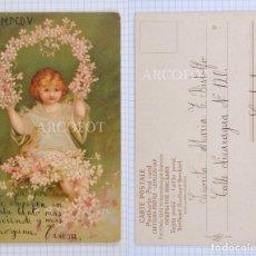 Postales: POSTAL FECHADA 1905 - LA DE LA FOTO. Lote 194378235