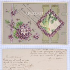 Postales: POSTAL FECHADA EN 1910 - LA DE LA FOTO. Lote 194397191