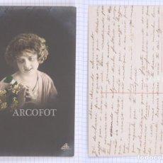 Postales: POSTAL FECHADA EN 1914 - LA DE LA FOTO. Lote 194397295