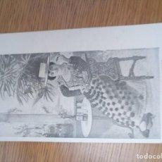 Postales: ANTIGUA POSTAL BELLEZAS 1900 UNIÓN POSTAL UNIVERSAL. Lote 194512745