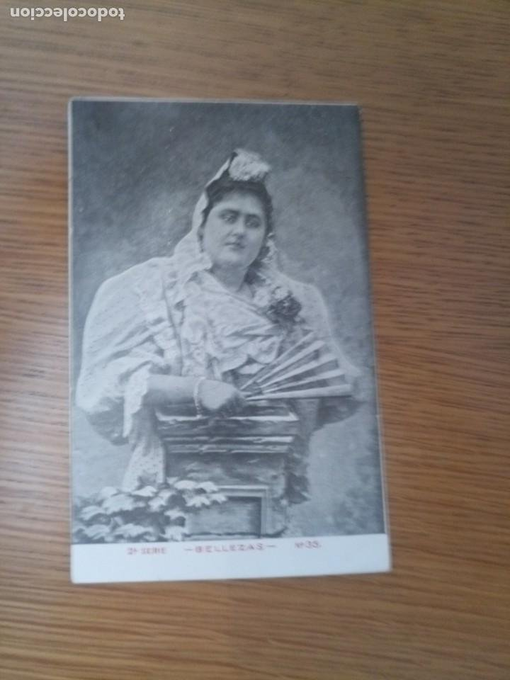 ANTIGUA POSTAL BELLEZAS 1900 UNIÓN POSTAL UNIVERSAL (Postales - Postales Temáticas - Galantes y Mujeres)