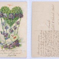 Postales: POSTAL FECHADA EN 1910 - LA DE LA FOTO. Lote 194585015