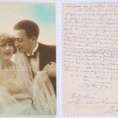 Postales: POSTAL FECHADA EN 1925 - LA DE LA FOTO. Lote 194585240