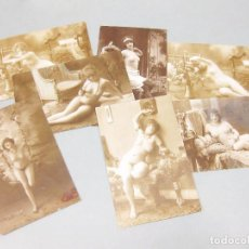 Postales: LOTE DE 7 POSTALES FOTOGRÁFICAS ERÓTICAS.. Lote 194606458