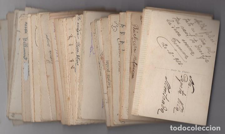 Postales: Parejas de enamorados. Gran lote de 80 postales - Foto 22 - 194678165