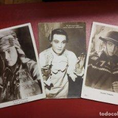 Postales: RODOLFO VALENTINO ANTIGUAS POSTALES RUDOLPH.. Lote 194690212