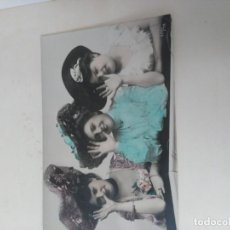 Postales: TRES CHICAS. Lote 194969176