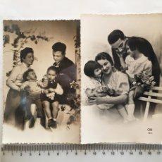Postales: DOS POSTALES ROMÁNTICAS. H. 1945?.. Lote 194986193
