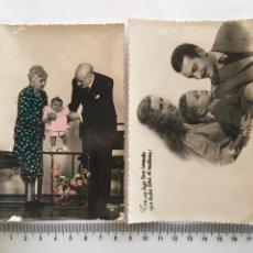 Postales: DOS POSTALES ROMÁNTICAS. H. 1945?.. Lote 194986423