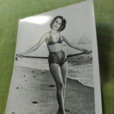 Postales: CHICA EN BIQUINI. Lote 195014130