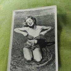 Postales: CHICA EN BIKINI. Lote 195015415