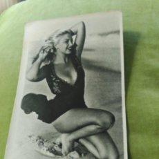 Postales: CHICA EN BAÑADOR. Lote 195017663