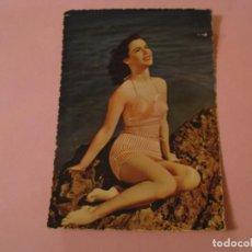 Postales: POSTAL CHICA, PLAYA, BAÑADOR. ED. CECAMI. ITALIA.. Lote 195131727