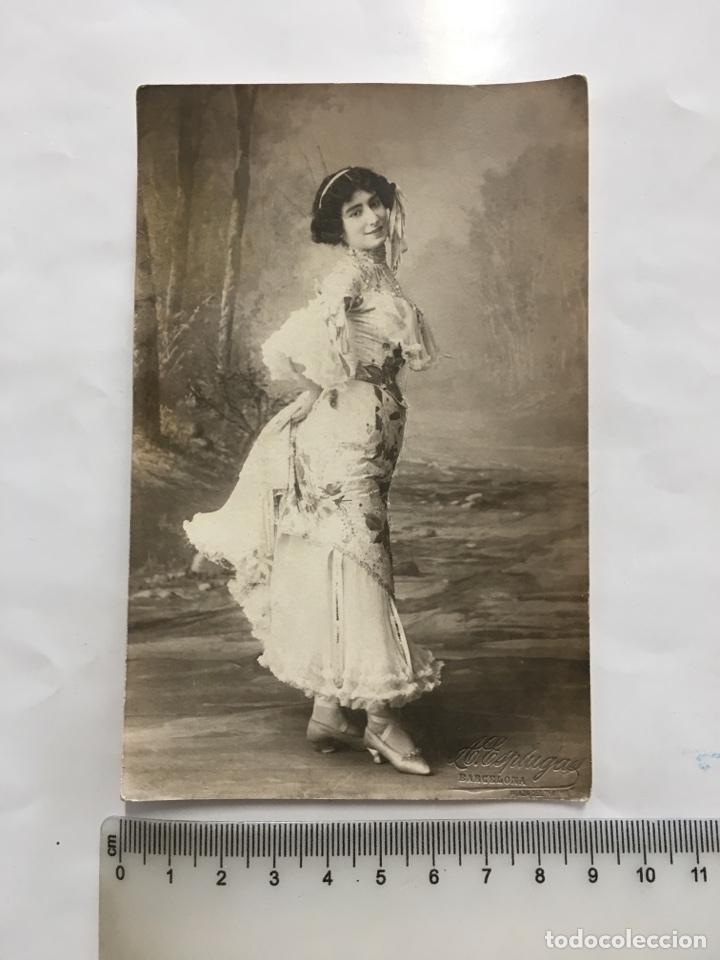 POSTAL ROMÁNTICA. JUVENTUD Y BELLEZA. A. ESPLUGAS. BARCELONA. H. 1920?. (Postales - Postales Temáticas - Galantes y Mujeres)