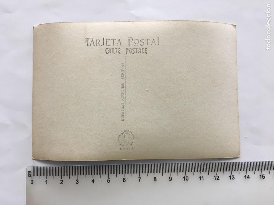 Postales: POSTAL ROMÁNTICA. MANTHE DE GROOF?. ACTRIZ Y CUPLETISTA. H. 1910?. - Foto 2 - 195203741