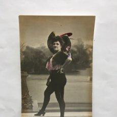Postales: POSTAL ROMÁNTICA. MANTHE DE GROOF?. ACTRIZ Y CUPLETISTA. H. 1910?.. Lote 195203741
