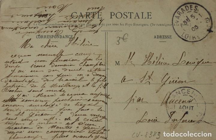 Postales: P-10075. EL LENGUAJE DE LOS ASES (LE LANGAGE DES AS). AÑO 1905. CIRCULADA. - Foto 3 - 195221066