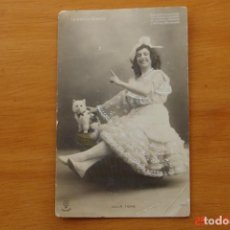 Postales: POSTAL ANTIGUA MUJERES GALANTES -CANTANTES Y ACTRISES -JULIA FONS. Lote 195320862
