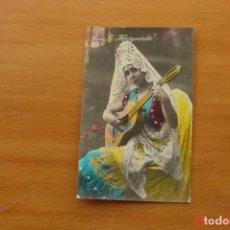 Postales: POSTAL ANTIGUA MUJERES GALANTES -CANTANTES Y ACTRISES -LA MARQUESITA. Lote 195321642