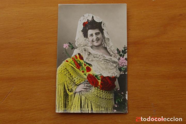 POSTAL ANTIGUA MUJERES GALANTES -CANTANTES Y ACTRISES -CONCHITA LEDESMA (Postales - Postales Temáticas - Galantes y Mujeres)