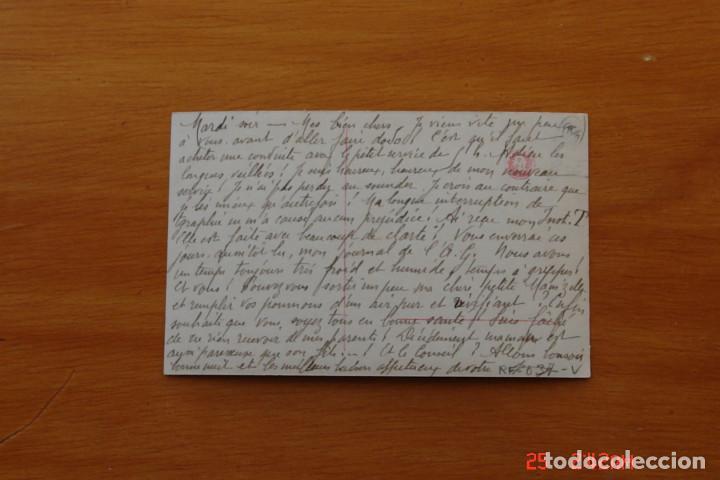Postales: POSTAL ANTIGUA MUJERES GALANTES -CANTANTES Y ACTRISES - MARQUERITE DE FAUST - Foto 2 - 195322896