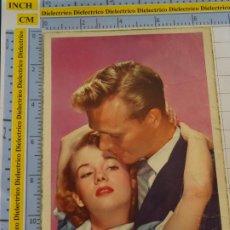 Postales: POSTAL DE MUJERES Y GALANTES. FECHADA MELILLA AÑO 1956. ENAMORADOS. S/500 CYZ. 145. Lote 195481747