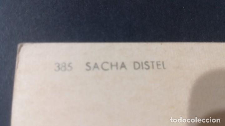Postales: 385 SACHA DISTELFAMOSOS ACTORES CANTANTESCP-A25 - Foto 2 - 197153746