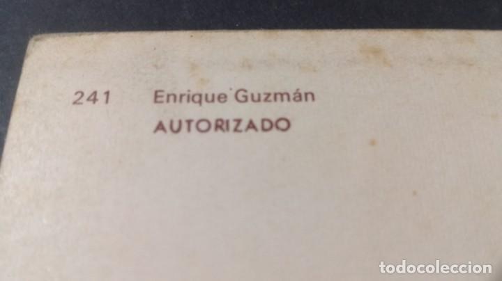 Postales: 241 ENRIQUE GUZMAN (AUTORIZADO)FAMOSOS ACTORES CANTANTESCP-A29 - Foto 2 - 197153792