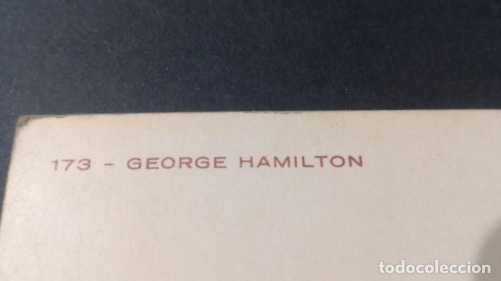 Postales: 173 GEORGE HAMILTON FAMOSOS ACTORES CANTANTES CP-A29 - Foto 2 - 197153821