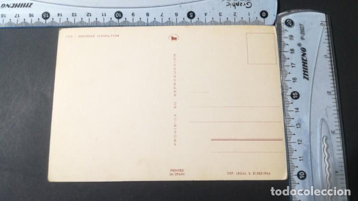 Postales: 173 GEORGE HAMILTON FAMOSOS ACTORES CANTANTES CP-A29 - Foto 3 - 197153821