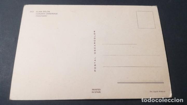 Postales: 343 ALAIN DELON - CLAUDIA CARDINALEFAMOSOS ACTORES CANTANTESCP-A29 - Foto 2 - 197154446