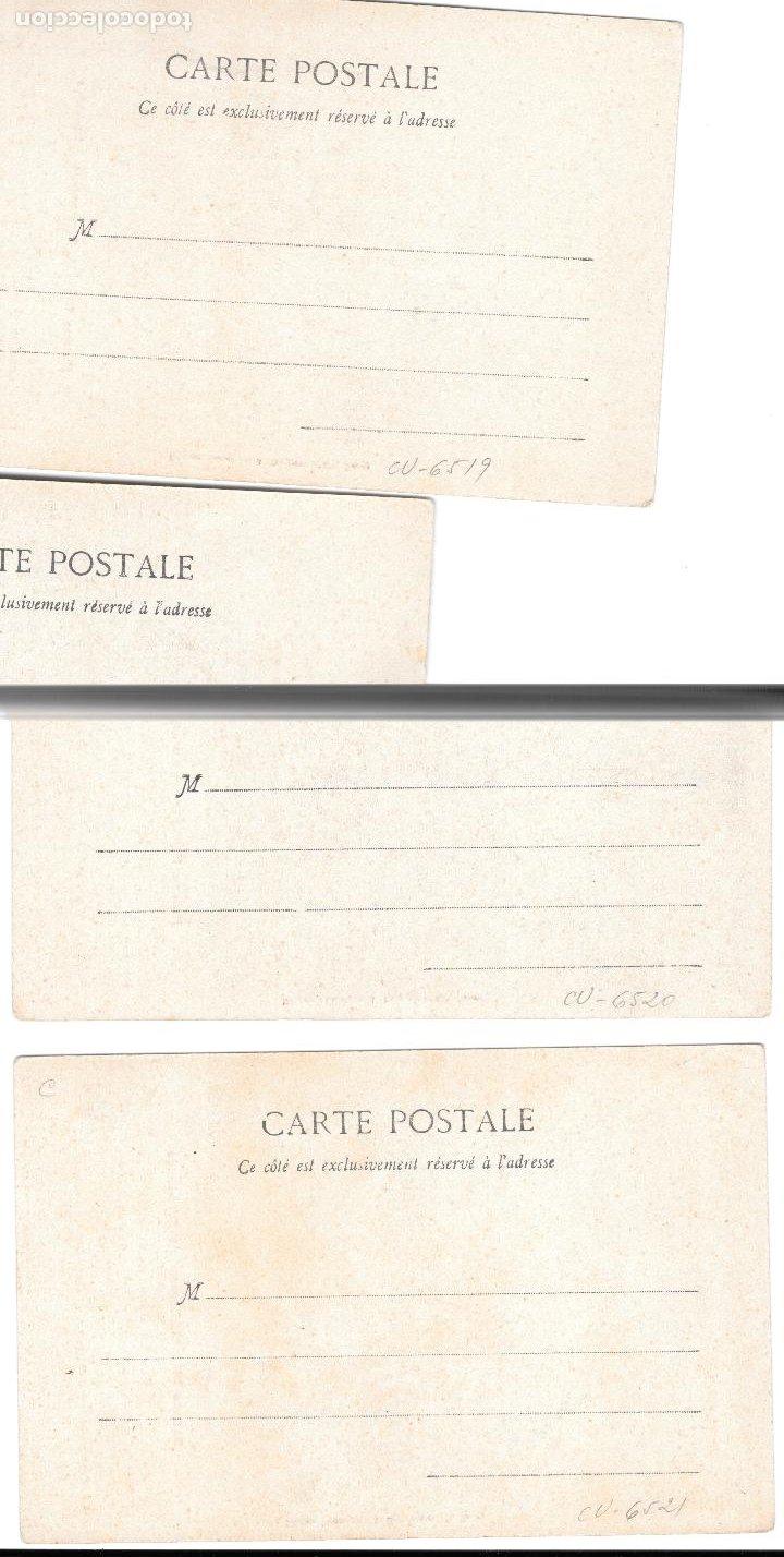 Postales: P-11493. LOTE 3 POSTALES FOTOGRAFICAS MADAME THERESE. PRINCIPIOS S.XX. - Foto 2 - 203513506