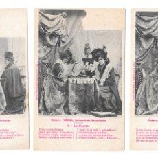 Postales: P-11493. LOTE 3 POSTALES FOTOGRAFICAS MADAME THERESE. PRINCIPIOS S.XX.. Lote 203513506