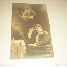 Postales: ANTIGUA POSTAL ROMANTICA DE 1911. ESCRITA. Lote 204648428