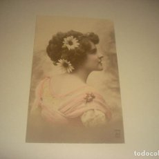 Postales: ANTIGUA POSTAL DE MUJER. MN PARIS. CIRCULADA.. Lote 204832287