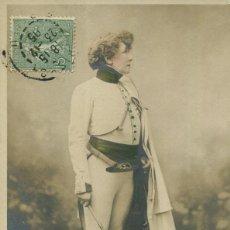 Postales: SARAH BERNHARDT- ARTISTA-EN EL PAPEL L'AIGLON- 1905-FOTOGRÁFICA. Lote 205030505