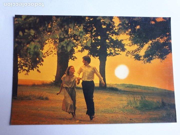 POSTAL PAREJA ROMÁNTICA. AÑOS 70 (Postales - Postales Temáticas - Galantes y Mujeres)