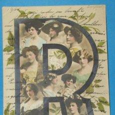 Postales: POSTAL ANTIGUA CIRCULADA. 1905. LETA R. MUJERES.. Lote 206897833