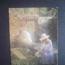 Postales: MUJERES EN EL JARDÍN-BRUNO MUNGGIO-BREYMI S.A.. Lote 207195073