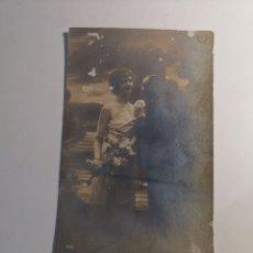 Postales: POSTAL CIRCULADA DE 1917. DIRIGIDA A CARMEN MASSANEDAS Y PABLO BUSSÓ. GIRONA. Lote 207260657