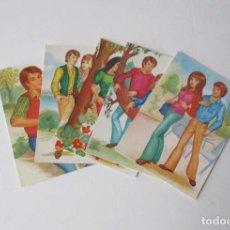 Postales: CINCO POSTALES PRELUDE DE EDICIONES BERGAS. Lote 207630481