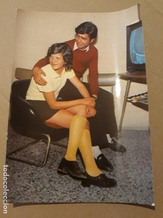 POSTAL AÑO 1972 PAREJA 3094/1 DE EDITORIAL CERBER* (Postales - Postales Temáticas - Galantes y Mujeres)