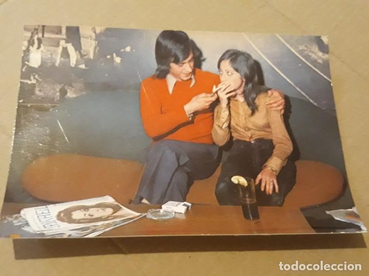 POSTAL AÑO 1972 PAREJA 3094/3 DE EDITORIAL CERBER* (Postales - Postales Temáticas - Galantes y Mujeres)