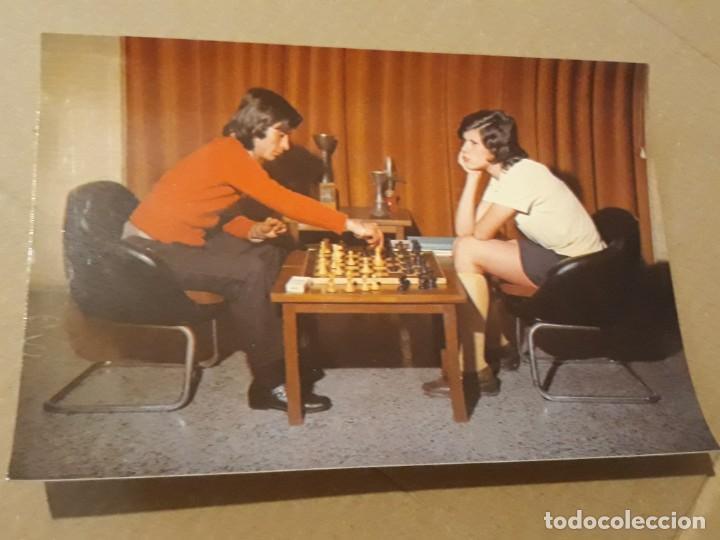 POSTAL AÑO 1972 PAREJA 3094/4 DE EDITORIAL CERBER* (Postales - Postales Temáticas - Galantes y Mujeres)