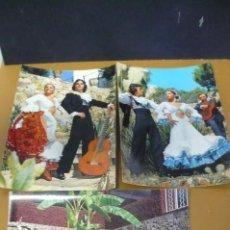 Postales: ESPAÑA TIPÌCA BALLET FIESTA FLAMENCA. Lote 208807306