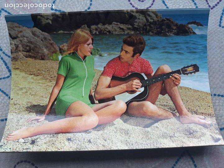 ANTIGUA POSTAL AÑO 1968 PAREJA 568-3 EDITORIAL VIKINGO A ESTRENAR* (Postales - Postales Temáticas - Galantes y Mujeres)