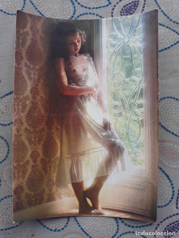 ANTIGUA POSTAL AÑOS 80 CHICA ROMANTIC PICTURES 8800N EDITORIAL C&Z A ESTRENAR* (Postales - Postales Temáticas - Galantes y Mujeres)